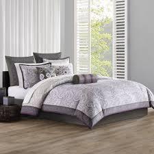 echo design marrakesh full comforter set purple grey