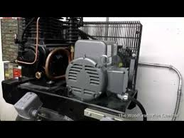 air compressor magnetic starter wiring youtube
