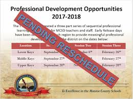 monroe county district curriculum overview