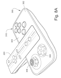 patent us7927216 video game system with wireless modular
