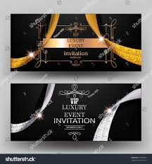Event Invitation Cards Luxury Event Invitation Cards Vintage Frame Stock Vector 573824098