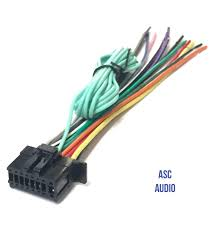 amazon com asc car stereo power speaker wire harness plug for