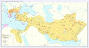 The Great Plains Map The Empire Of Alexander The Great To 323 Bc By Undevicesimus On