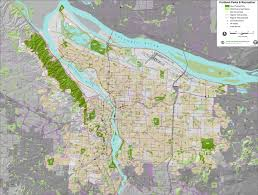 Portland Trails Map by Projects The City Of Portland Oregon