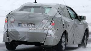new renault megane sedan renault megane sedan spied winter testing