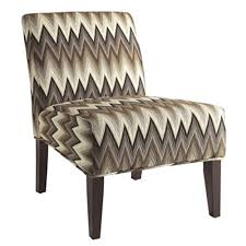 Chevron Accent Chair Coaster 902564 Gradient Chevron Accent Chair Null Brown