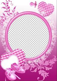 baby picture frame princess free multilayered frame psd