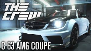 the crew mercedes c 63 amg coupe black series perf