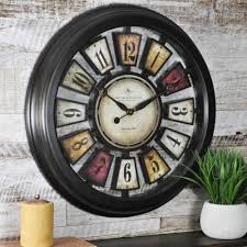 Modern Wall Clocks Modern Wall Clocks Wall Decor The Home Depot
