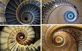 architectural art photos of 101 dizzying spiral staircases urbanist