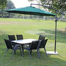 Side Patio Umbrella Luxury Side Pole Heavy Duty Umbrella Garden Umbrella Patio