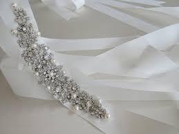 grosgrain ribbon belt grosgrain ribbon bridal belts embellished with swarovski crystals