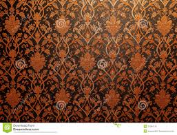 vintage traditional thai line art wallpaper stock photos image