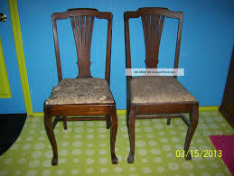 Old Dining Room Chairs by Retro Dining Room Set