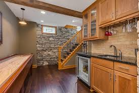 Cost To Build A Bar In Basement by Basement Square Footage Finished Basement Company