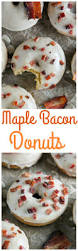 maple bacon donuts baker by nature