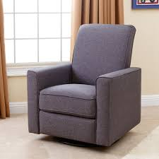 Karlsen Swivel Glider Recliner Recliner Swivel Recliner Charming Swivel Recliner With Footstool
