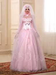 robe empire mariage manches longues perles bowknot empire robe de mariage musulman