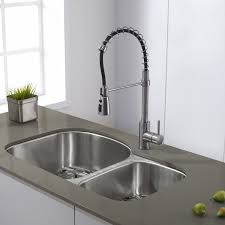Kitchen Faucet Discount Kraus Pull Single Handle Kitchen Faucet Reviews Wayfair