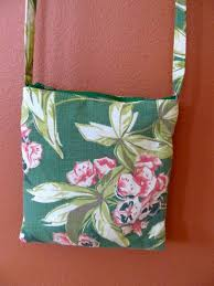Vintage Drapery Fabric Jennette 01 Vintage Drapery Fabric Purse With Three Matching