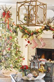 deck the halls 2016 den kitchen dixie delights the stockings are collected from ballard designs over the years i love that they have carried this line for so long so that we could add on as our family