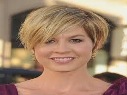 short hairstyles for thin hair over 50 round face archives