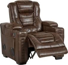 Power Sofa Recliners by Eric Church Highway To Home Chief Brown Power Plus Recliner