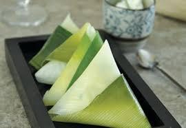 cuisiner le poireaux samoussa de poireau ricotta ciboulette recette interfel les