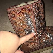 womens boots on sale size 9 27 ugg shoes size 9 uggs color changing sequin from
