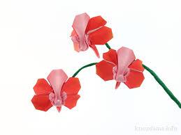 origami orchid tutorial origami orchid blossom robert j lang orchid blossom des flickr