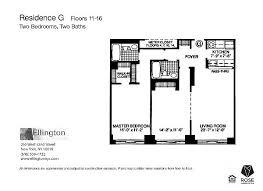 Ellington Floor Plan The Ellington New York Ny Apartment Finder