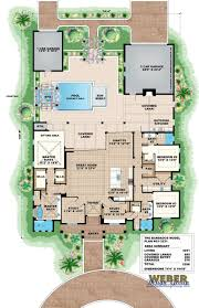 House Plans Coastal Home Design Modern House Open Floor Plans Tropical Medium With