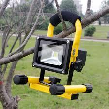 10w rechargeable flood light yupard brightness led rechargeable flood light flashlight spotlight