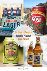 light beer calories list 9 low carb beers under 200 calories daily burn