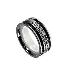 bible verse rings men s rings with bible verse