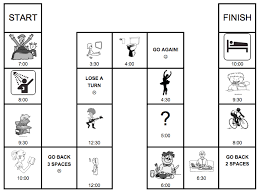 daily routine board game esl efl present simple practice in english