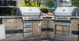 kitchen island ontario matching grill island bar and seating options for outdoor