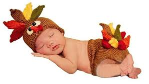 baby thanksgiving hat pinbo baby photography prop turkey knitted