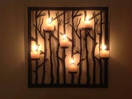Large Candle Sconces For Wall Candle Wall Décor To Create A Romantic And Warm Atmosphere