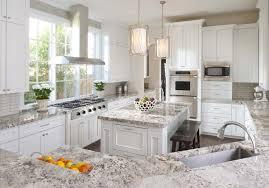 Kitchen Cabinets Dallas Thick Slab Granite Countertops Define This Cozy Kitchen Large