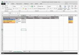 how to build a content calendar plus a free template