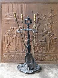 19th c fire tool set and stand at 1stdibs