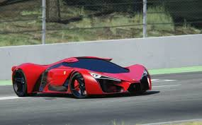 ferrari concept ferrari f80 concept at circuit de barcelona catalunya youtube