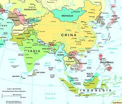 Asia Geography Map Map Of Asia Asia Political Map Asia Geography Map