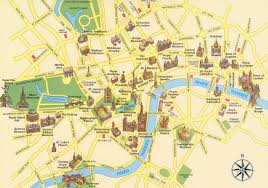 England On Map Download London England City Map Major Tourist Attractions Maps