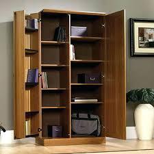 sauder homeplus four shelf storage cabinet sauder homeplus storage cabinet dakota oak by sauder homeplus