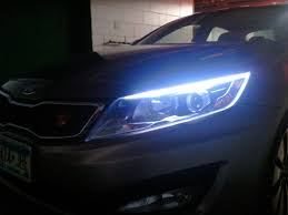 Led Light Strip Car by Anyone Try The Headlight Led Eyelid Page 2