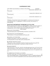 sample business partnership contract best resumes curiculum