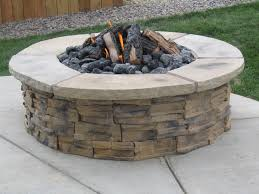 Firepit Rocks Construction Pit Rocks My Journey