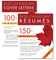 canadian resume best canadian resumes series cover letter and resume samples